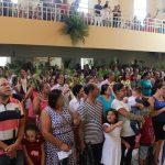 Comunidade Santa Luzia celebra Domingo de Ramos