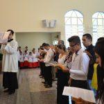Paróquia celebra primeiro escrutínio da Iniciação Cristã