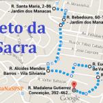 Confira o novo trajeto da Via Sacra 2015