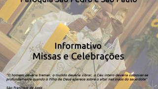 Informativo Missas e Celebra��es