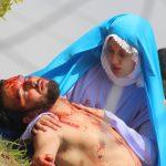 Maria amparo Jesus morto.