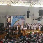 Vicentinos da S. Pedro e S. Paulo participam de Romaria Nacional