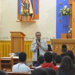 Semana da Juventude inicia com o amor a Deus e seu Santo nome