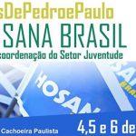 Participe do Hosana Brasil com os #JovensDePedroEPaulo