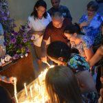 Pe. Carlos celebra missa de finados