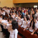 'Sta. Luzia' dá início às primeiras eucaristias de 2015