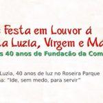 Participe da Trezena de Santa Luzia