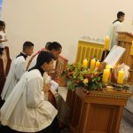 Matriz sedia Missa do Dia do Natal do Senhor