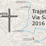 Confira o trajeto da Via Sacra 2016