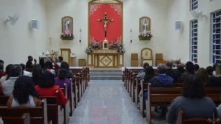inauguração Nova Igreja N. Sra. dos Anjos e S. Gabriel