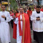 Domingo de Ramos na comunidade São José