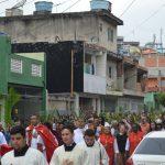 Domingo de Ramos na Matriz pela manhã