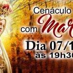 RCC convida para o Cenáculo com Maria