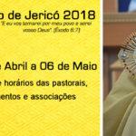 1º Cerco de Jericó 2018: escala das pastorais, movimentos e associações