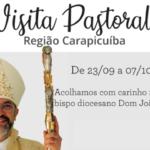 Programação da Visita Pastoral – Região Carapicuíba