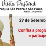 'S. Pedro e S. Paulo' irá receber a Visita Pastoral de Dom João