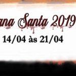 Confira a programação da Semana Santa 2019